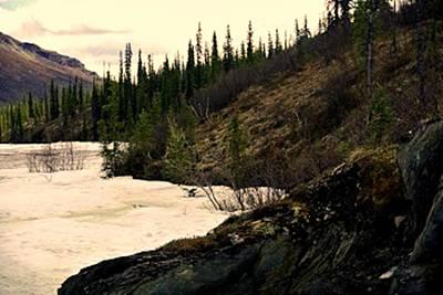Snowstorm Mixed Media - Alaskan Wilderness 2 by Diane Strain