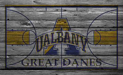Albany Great Danes Print by Joe Hamilton