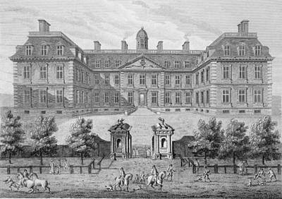Restoration Drawing - Albemarle House, Formerly Clarendon by Wise