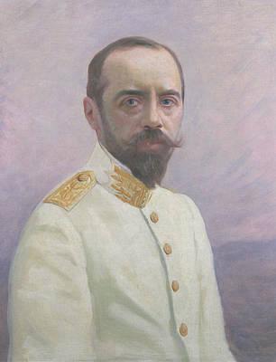 Albert Sarraut 1872-1962 Oil On Canvas Print by Mascre Souville