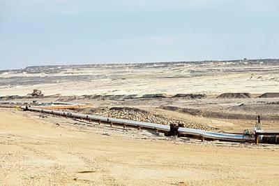 Destruction Photograph - Albian Sands Tar Sands Mine by Ashley Cooper