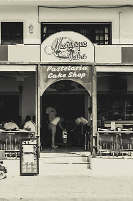 Albufeira Street Series - Martinique Velha Print by Marco Oliveira
