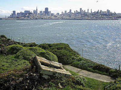 Alcatraz Photograph - Alcatraz And San Francisco by Daniel Hagerman