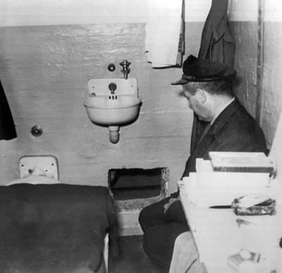 Alcatraz Escape Print by Retro Images Archive