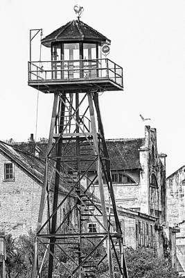 Alcatraz Photograph - Alcatraz Guard Lookout Tower by Erik Brede