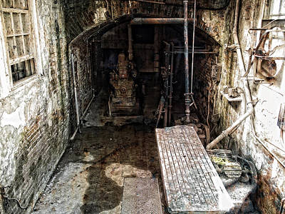 Alcatraz Island Morgue Print by Daniel Hagerman