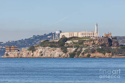 Alcatraz Island San Francisco California 5dimg2523 Print by Wingsdomain Art and Photography