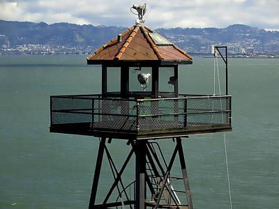 Alcatraz Photograph - Alcatraz No Escape by Daniel Hagerman
