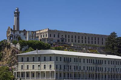 Alcatraz Photograph - Alcatraz Prison by John McGraw
