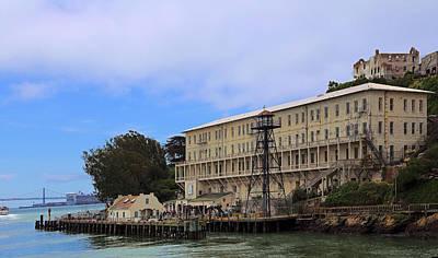 Alcatraz  Building 64 Print by Viktor Savchenko