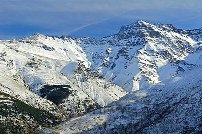 Sierra Nevada Photograph - Alcazaba 3315 Meters by Guido Montanes Castillo