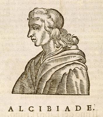 Alcibiades Print by Middle Temple Library