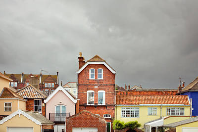 Rooftop Photograph - Aldeburgh Buildings by Tom Gowanlock