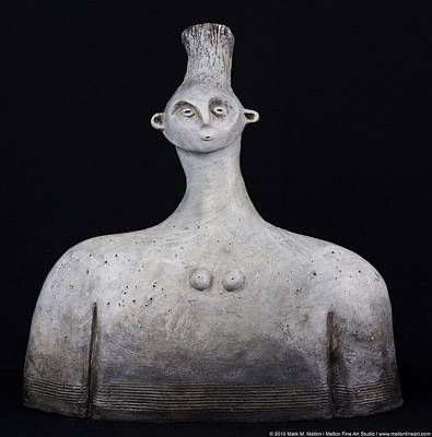 Outsider Sculpture - Alessa by Mark M  Mellon