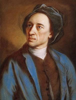 Alexander Pope Print by Miriam And Ira D. Wallach Division Of Art, Prints And Photographs/new York Public Library