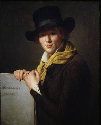 Academic Painting - Alexandre Lenoir by Marie Genevieve Bouliard