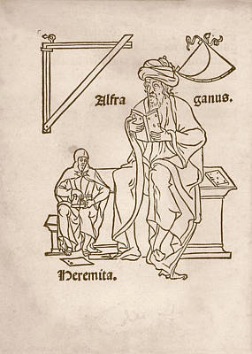 Alfraganus Print by Library Of Congress