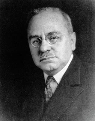 Alfred Adler Print by National Library Of Medicine