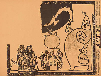 Alfred Jarry French, 1873 - 1907, Ubu Roi Print by Quint Lox