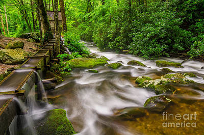 Alfred Reagans Mill Print by Anthony Heflin
