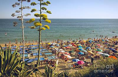 Sea Photograph - Algarve Beach by Carlos Caetano