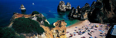 Sunbathers Photograph - Algarve Portugal by Panoramic Images