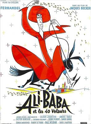Ali-baba And The Forty Thieves, Aka Print by Everett