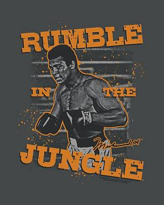 Boxer Digital Art - Ali - Ready To Rumble by Brand A