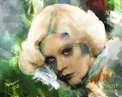 Fay Digital Art - Alice Fay by Arne Hansen