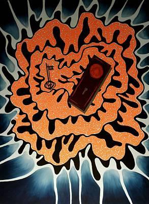 Painting - Alice's Key by Angela Hansen