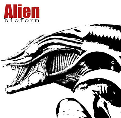 Alien Character  Original by Toppart Sweden
