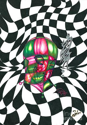 Alien Print by Joker Gallery