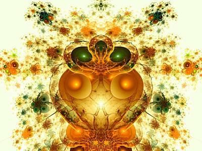 Alien Garden Print by Anastasiya Malakhova