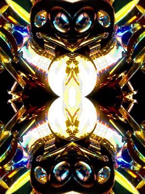Platinum Mixed Media - Alien Invasion by Rom Galicia