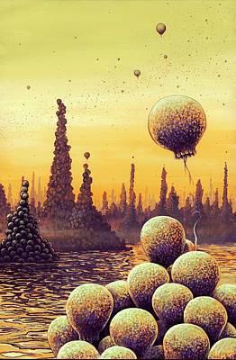 Aliens Photograph - Alien Life Forms by Richard Bizley