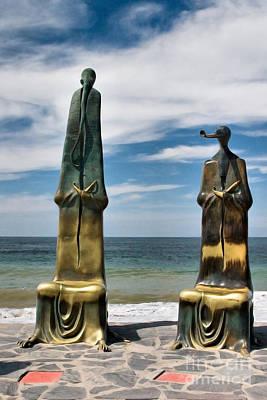 Puerto Vallarta Photograph - Alien Statues  by Mark Baker