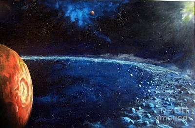 Alien Storm Print by Murphy Elliott