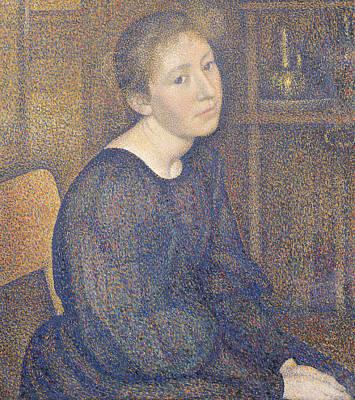 Aline Marechal Print by Georges Lemmen
