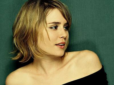 Cabin Wall Photograph - Alison Lohman  by Movie Poster Prints