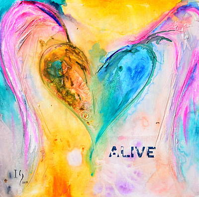 Christian Artwork Painting - Alive by Ivan Guaderrama