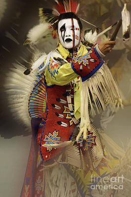 Beadwork Photograph - Pow Wow All About Time by Bob Christopher