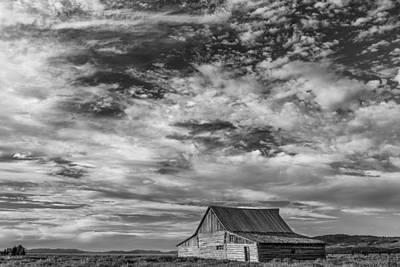 Cabin Photograph - All Alone by Jon Glaser