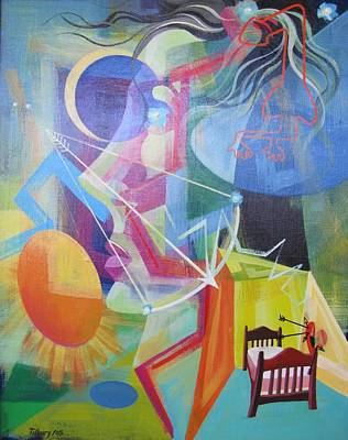 All Around Us Painting - All Around Us by Brian Tilbury