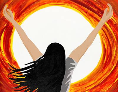 All Consuming Fire Original by Ann Marie Noyman