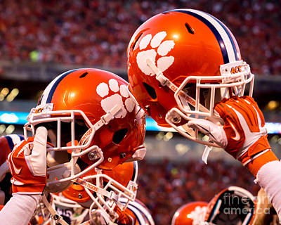 Clemson Photograph - All In by Carlton Griffith
