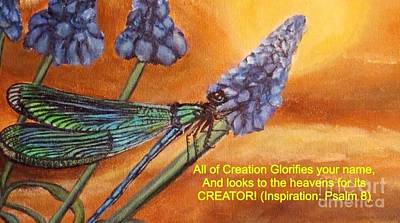 All Of Creation Glorifies Your Name Print by Kimberlee  Baxter