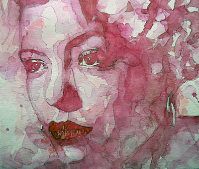 Singers Painting - All Of Me by Paul Lovering