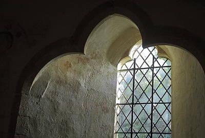 Sutton Photograph - Norman All Saint's Church  by Rumyana Whitcher