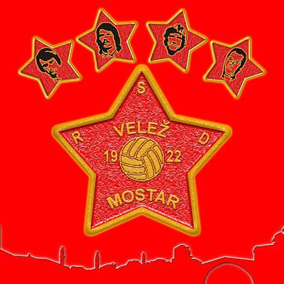 Bosnae Digital Art - All Stars by Toro Tan