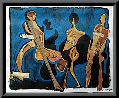 All That Jazz Print by John Andro Avendano